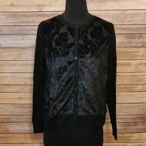 NWOT A new day Black Cardigan